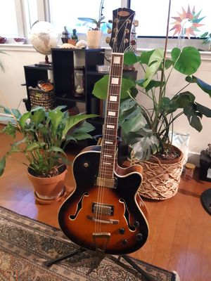 Semi-acoustic Jazz Guitar (Stagg A300) - 250$ for Sale in Washington, DC