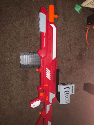 Nerf gun with a attachment for Sale in Pasadena, CA