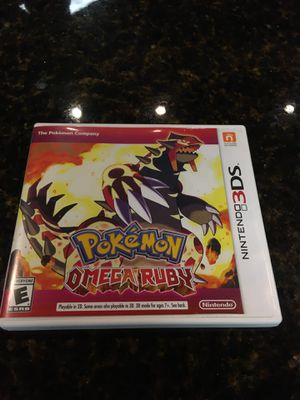 Pokémon Mega Ruby Nintendo 3DS for Sale in San Antonio, TX