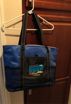 "FREE! Beach/pool bag ""Explorer's Reef at SeaWorld"" for Sale in Carlsbad, CA"