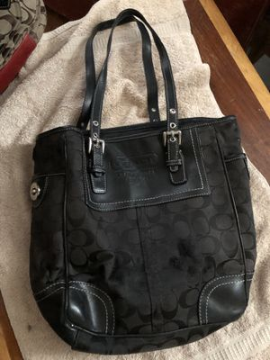 Black Coach bag small tote bag for Sale in Severn, MD