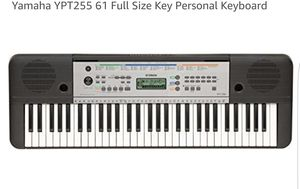 Yamaha YPT255 61 Full Size Key Personal Keyboard for Sale in Phoenix, AZ