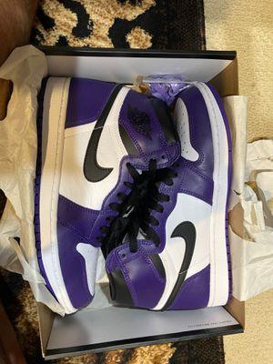 Jordan 1 court purple for Sale in Kent, WA