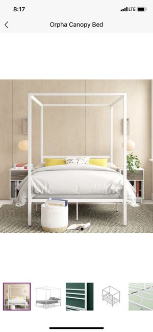 Twin Metal Bed Frame for Sale in Detroit, MI