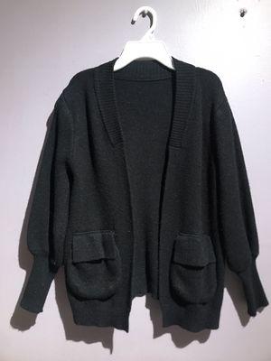 Women bubble sleeve Cardigan in black for Sale in Brooklyn, NY