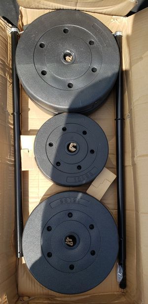 New weights and bar for Sale in Anaheim, CA