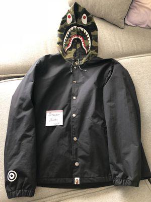 Bape Coach Shark Hood Jacket for Sale in Pittsburgh, PA