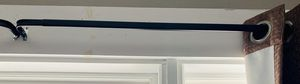 "48"" - 86"" Heavy Duty Expresso Curtain Rod Set for Sale in Sanford, ME"