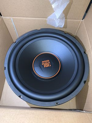 """(2) 12"""" JBL subwoofers only for Sale in Hillsboro, OR"""