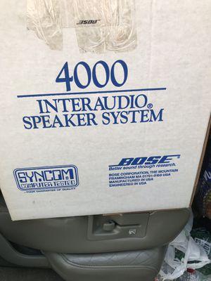 Bose 4000 interaudio speaker NIB for Sale in East Greenwich, RI