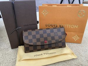 Original Louis Vuitton Emilie Wallet for Sale in Montclair, CA