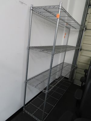 SAFCO Long metal wire shelving for Sale in Houston, TX