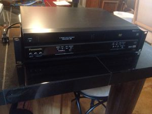 Rack mount VHS DVD Panasonic in perfect condition. Less than 10 hours usage for a conference. for Sale in Scottsdale, AZ