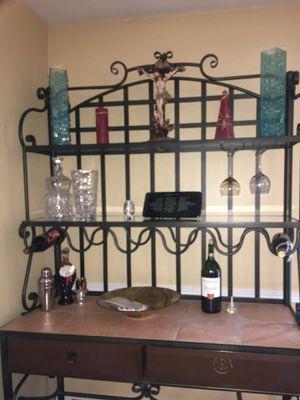 Bakers Wine Rack for Sale in Bergenfield, NJ