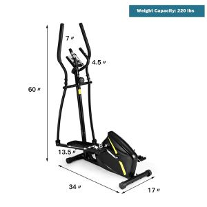 Magnetic Elliptical Machine Trainer for Home Gym Exercise for Sale in Beaumont, CA