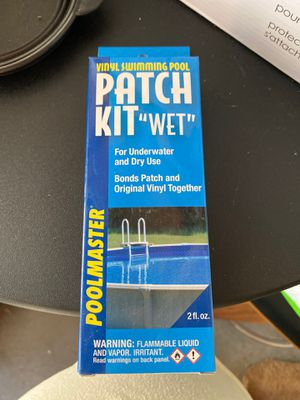 Vinyl Pool Patch Kit for Sale in Mission Viejo, CA