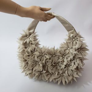 Timmy Woods Flower Hobo Bag Beige for Sale in Las Vegas, NV