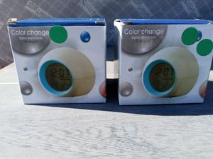 Color Change Digital Alarm Clock for Sale in Victorville, CA