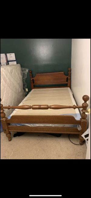 Full bed frame for Sale in Charlotte, NC