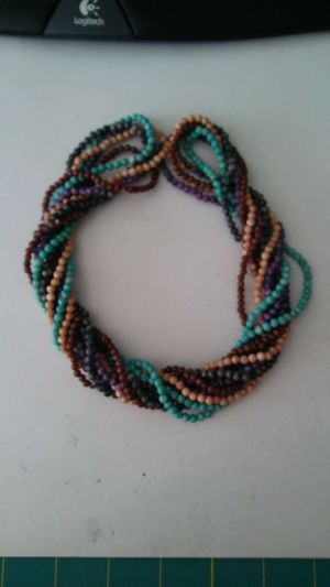 5 Strands Natural Gemstone Bead Necklaces for Sale in Cary, NC