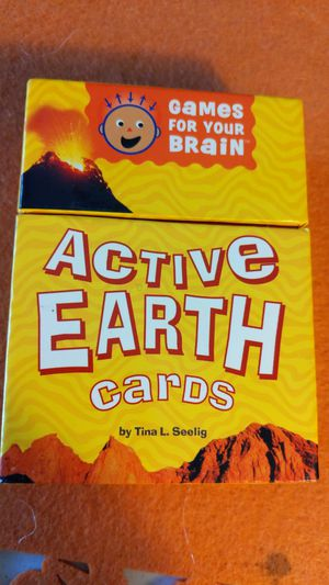 Active Earth card game for Sale in Peoria, AZ