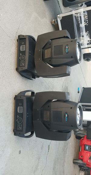 Dj Lighting 7R Moving Heads (230 watts) / Sound Equipment for Sale in Los Angeles, CA