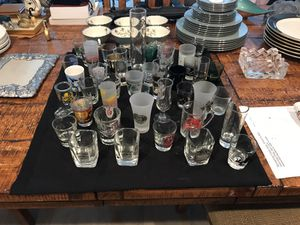 Shot glass collection states and cities and more 40 for Sale in Richardson, TX