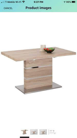 """Dinning Table Extendable Ligth Oak """" Laniyah"""" for Sale in Orlando, FL"""