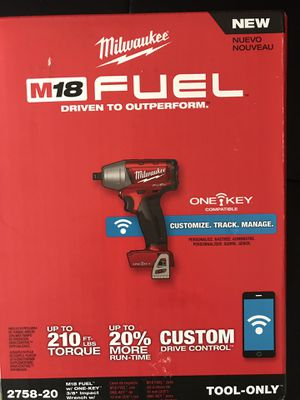 """Brand New M18 Fuel w/ ONE-KEY 3/8"""" Impact Wrench w/ Friction Ring for Sale in Greenville, SC"""
