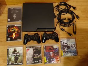 COMPLETE PLAYSTATION 3 PS3 SYSTEM LOT WITH 6 GAMES for Sale in Hawthorne, NJ