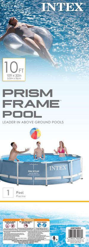 Intex 10' x 30'' Prism Frame Round Pool for Sale in Portland, OR