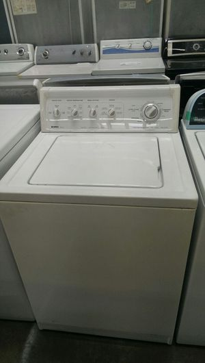 "27"" width Kenmore top load washer and dryer set very good working condition for Sale in Temple Hills, MD"