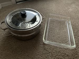Stainless Steel Pots & Pyrex for Sale in Gilbert, AZ