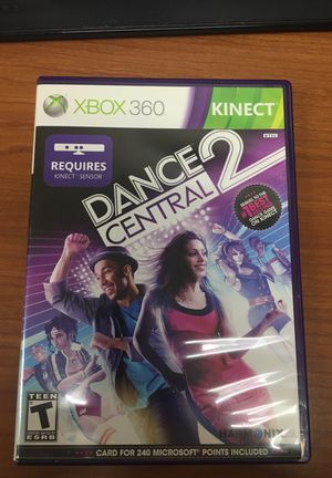 Xbox 360 game dance central 2 for Sale in Fort Meade, MD