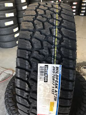 265/70/17 New set of Falken AT tires installed for Sale in Rancho Cucamonga, CA