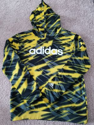 Adidas Camo Yellow/Black Pullover Hoodie Boys L 14/16 for Sale in San Diego, CA