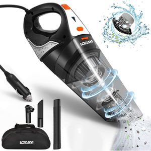 Car Vacuum, High Power DC 12V 5000PA Stronger Suction Car Vacuum Cleaner Wet/Dry Portable Handheld Auto Vacuum Cleaner with 16.4FT Power Cord, Carry for Sale in Torrance, CA