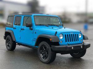 2017 Jeep Wrangler Unlimited for Sale in Auburn, WA