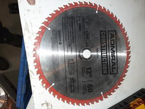 "12"" 60t table saw miter blade for Sale in Hemet, CA"