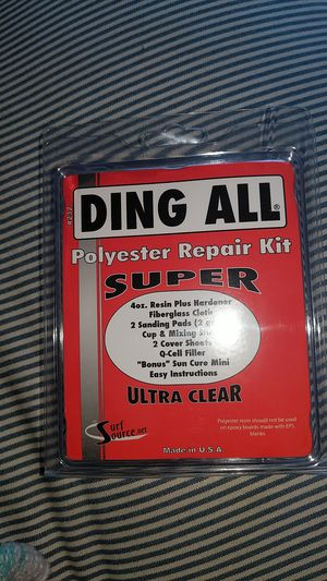 Ding All Polyester Repair Kit for Sale in La Mesa, CA