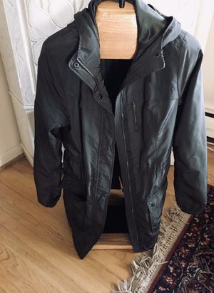 Women's A&F olive hoodie rain/wind jacket, size L for Sale in Silver Spring, MD
