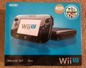 Nintendo Wii U 32GB - Black for Sale in Las Vegas, NV