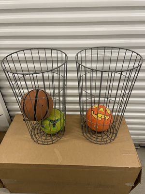 Metal ball/baseball bat holders $15. Each for Sale in San Diego, CA
