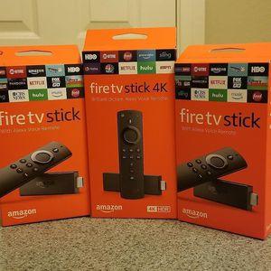 Otra manera de ver tv amazon Fire tv stick for Sale in Modesto, CA