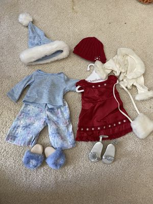 American Girl Doll Holiday Outfit and Holiday Pajamas! *Willing to sell separately* for Sale in Mission Viejo, CA