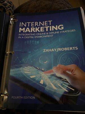 Internet marketing text book 4th edition for Sale in Fresno, CA