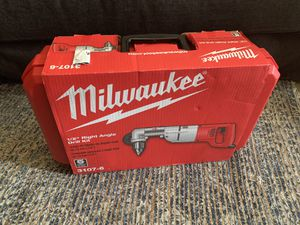 """Milwaukee 1/2"""" right angle drill kit New for Sale in Palo Alto, CA"""