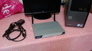 Wireless Router 8 Port Network switch Sonicwall Brand Long Range Wifi for Sale in Wall, PA