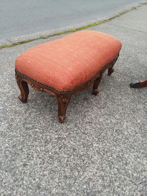 Antique French Footstool for Sale in Everett, WA