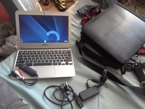 Chromebook os with toat bag charger for Sale in Chesapeake, VA